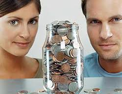 Couple money jar