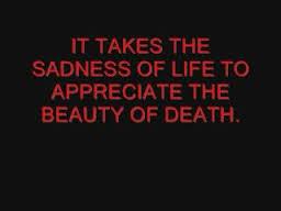 sadness of life