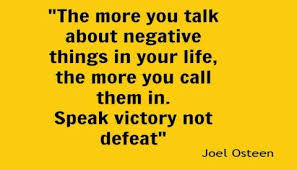 speak victory not defeat joel osteen quote whole woman network