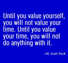 time and value
