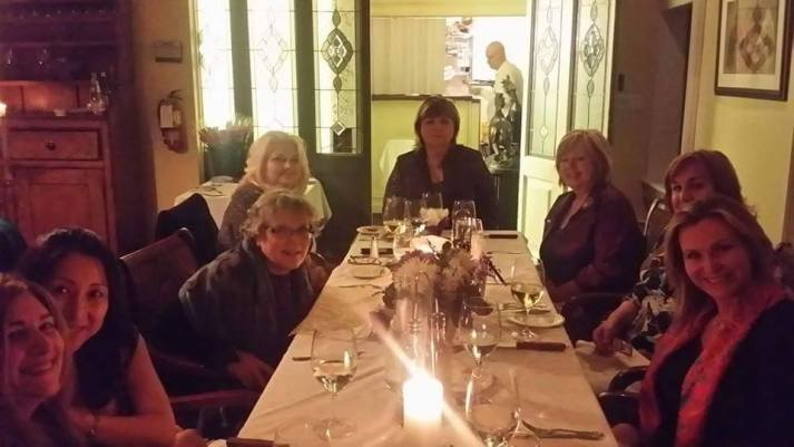 International Women's Day Dinner Event Hogan's Inn Angel Freedman Juliet Kego Ume-Onyido