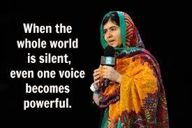 Voice Malala Yousafzai