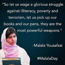 Malala Education Quotes