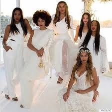 Tina Knowles and Her Daughters