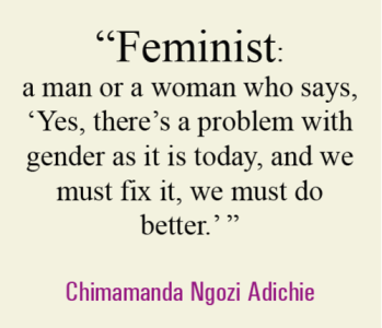 We should all be feminists by Chimamanda Adichie