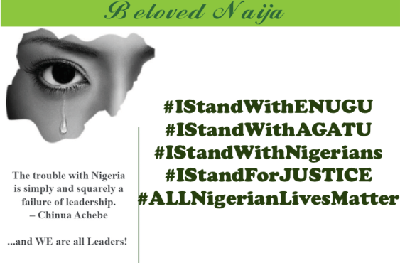 I Stand With Enugu