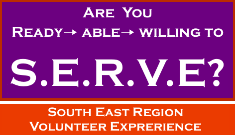 SOUTH EAST REGION VOLUNTEER EXPERIENCE WWN